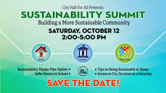Save the Date: Sustainability Summit