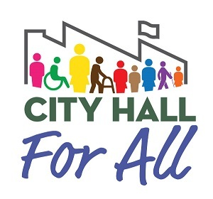city hall for all logo
