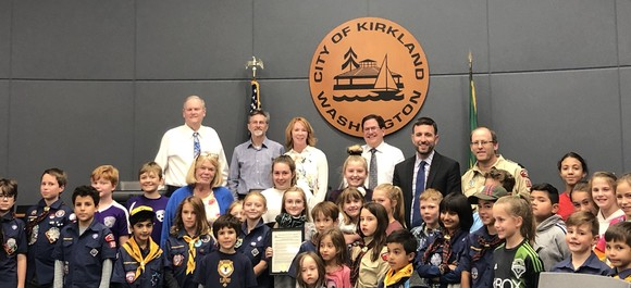walk and bike to school month proclamation