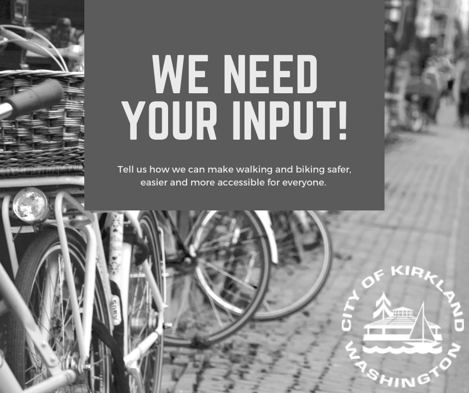 bicycles on cobbled sidewalk, we need your input