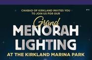 grand menorah lighting