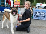 ACO Jennifer Matison with dog