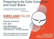 Kirkland Talks flyer