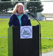 Mayor Penny Sweet Giving Speech at Groundbreaking
