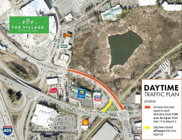 day time traffic plan