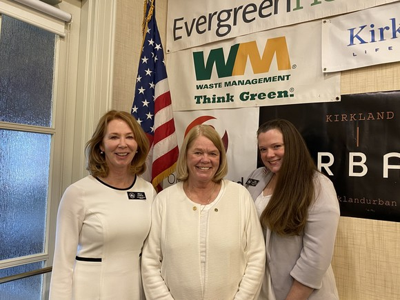 Mayor Penny Sweet, Councilmember Kelli Curtis and Councilmember Amy Falcone