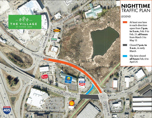 nighttime traffic plan