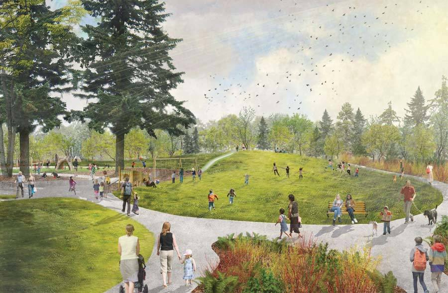 132nd square park rendering