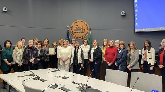 Women's History Month Proclamation photo