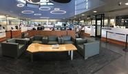 Photo of empty Kirkland City Hall lobby