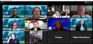 Council meeting photo virtual meeting