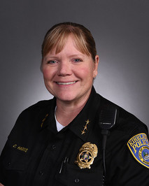 Police Chief Cherie Harris