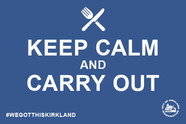 Keep calm and take out blue