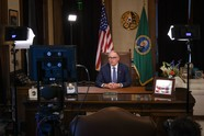 Gov. Jay Inslee stay home stay healthy announcement