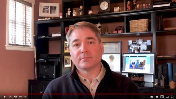 Councilmember Neal Black video capture