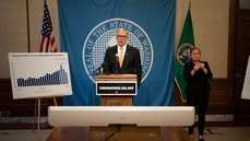 Gov. Inslee image for stay home extension
