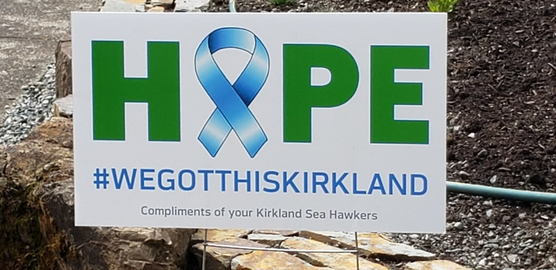 Image of HOPE sign by Kirkland Sea Hawkers