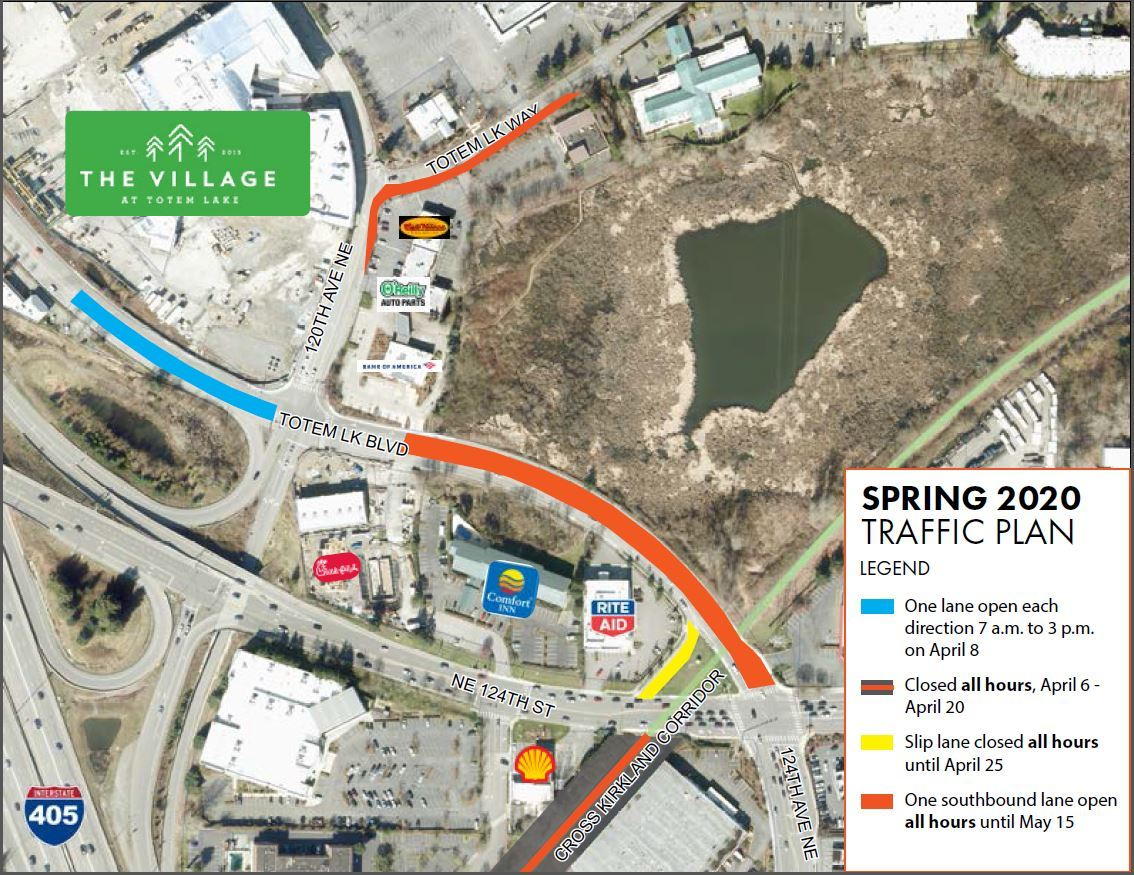 Totem Lake Spring Action Plan