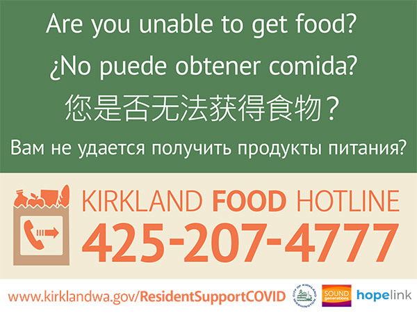 Food hotline image