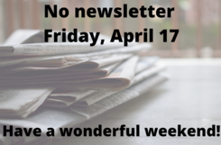 No newsletter image for April 16