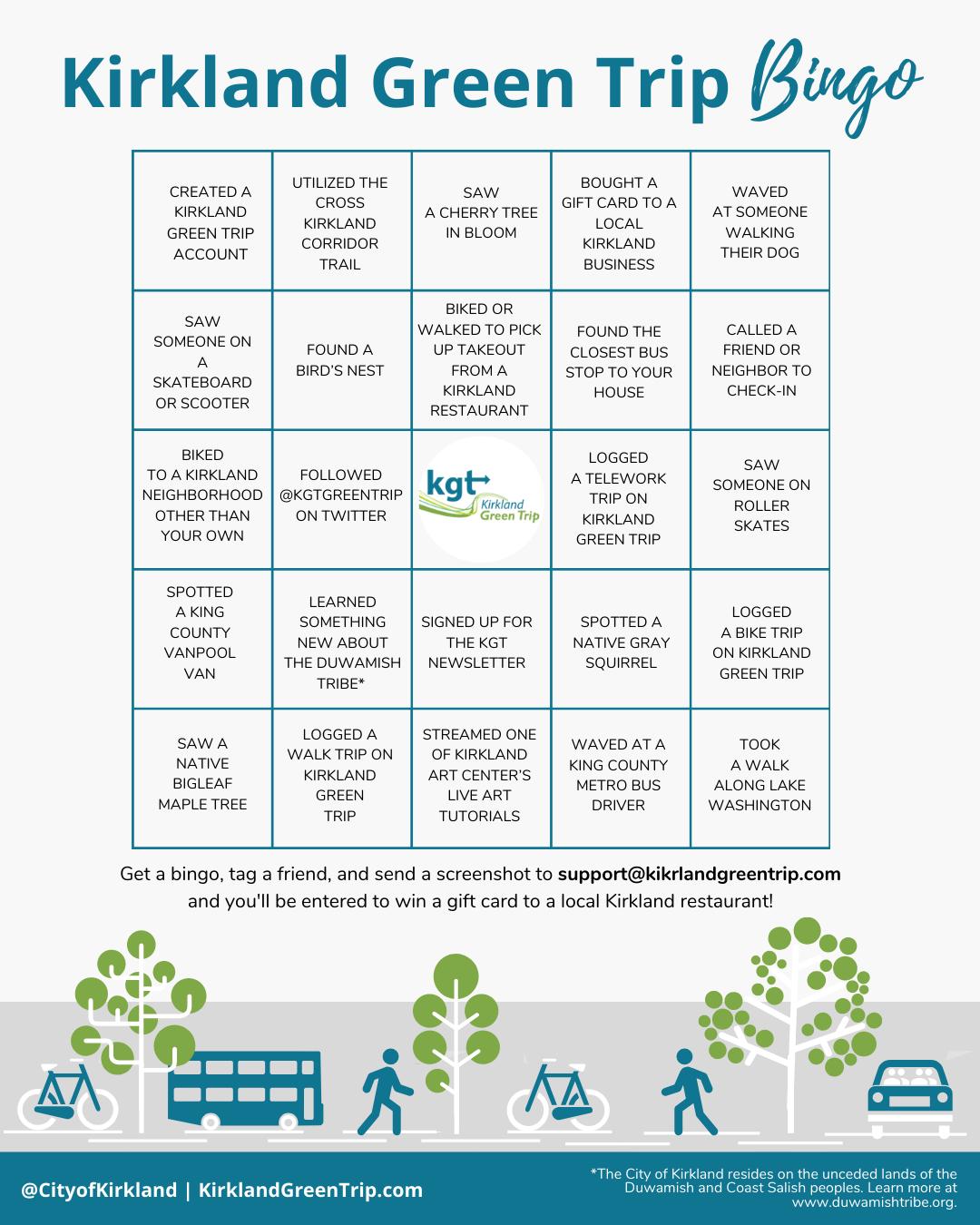 Green Trip Bingo Image
