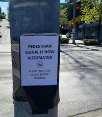 Automated crosswalk