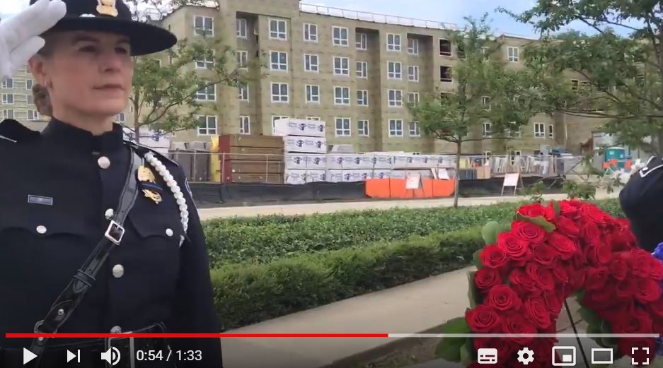 national peace officer memorial day ceremony