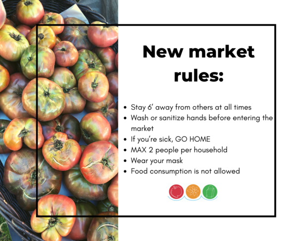 KDA Wednesday Market Rules