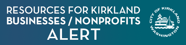 Resources for Kirkland Businesses and Non-profits