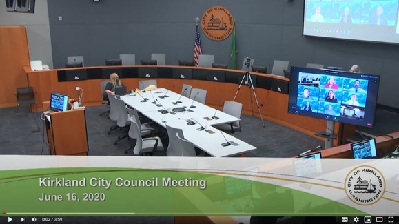 Council image from June 16