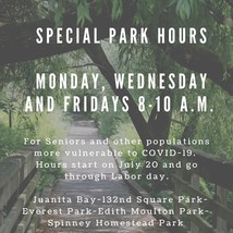 Parks hours image