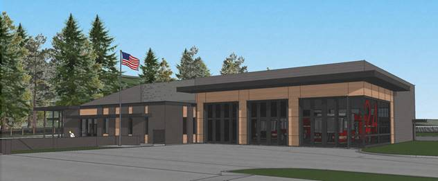Fire Station 24 rendering