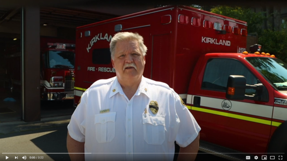Image of Chief Sanford for video