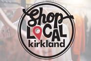 Shop Local Kirkland logo