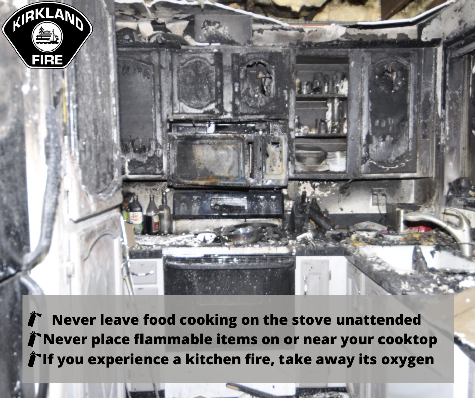 Fire prevention cooking safety