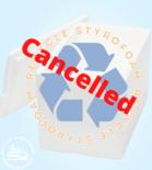 StyroFest cancelled