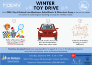 ICERV toy drive flyer