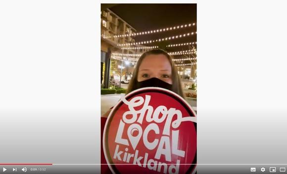 Shop Local Kirkland image for Falcone vid