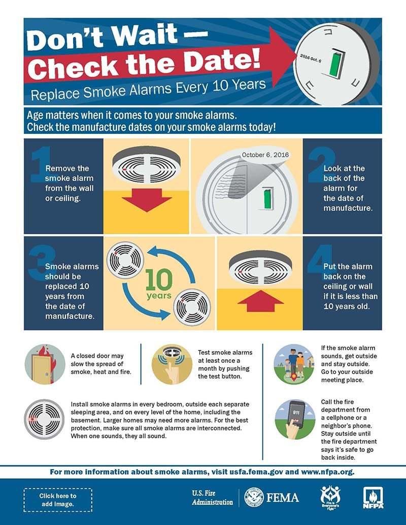 FEMA smoke alarms
