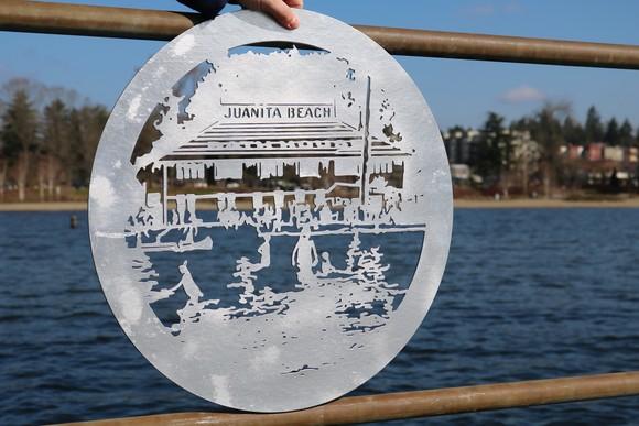 Juanita Beach art