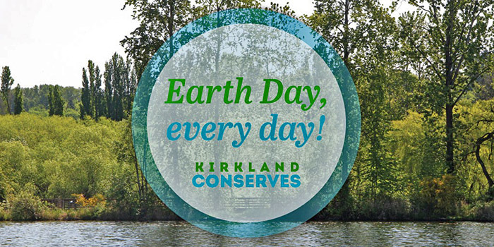 Celebrate Earth Month with the City of Kirkland