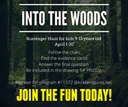 Scavenger Event: Into the Woods