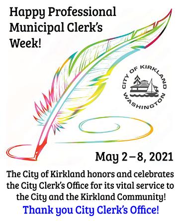 Municipal Clerk's Week: May 2 - 8