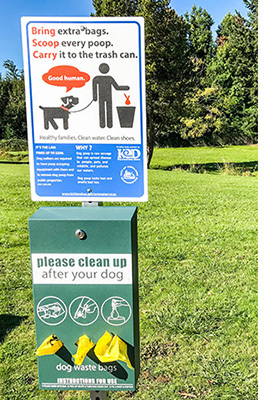 Become a Pet Waste Station Sponsor