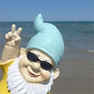 Gnome Sweet Gnome: Beach Gnome