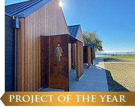 Juanita Beach Park Bathhouse: Project of the Year!