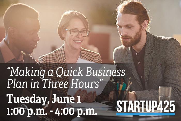 Startup 425 Small Business Workplan Workshop Series