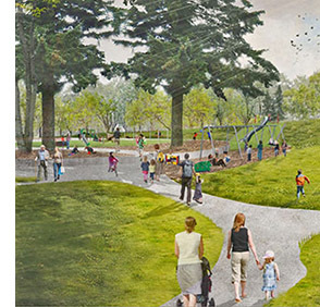 The New 132nd Square Park