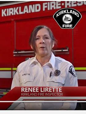 Renee Lirette: Kirkland Fire Inspector