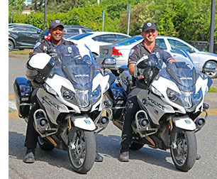 Officer Jackson and Officer Spak: KPD Motorcycle Officers!
